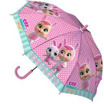 paraplu Dreamy junior 52 cm polyester paars/blauw