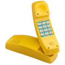 telefoon voor speelhuisje 21 cm geel
