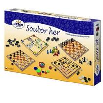 gezelschapsspellenset junior karton 4-delig