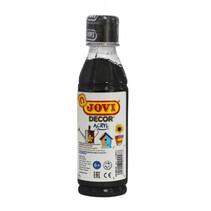 acrylverf Decor 250 ml junior acryl zwart