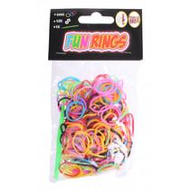 loombandjes Fun Rings groen 313-delig