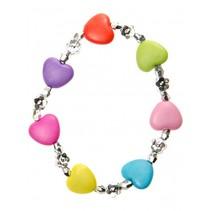 armband hartjes multicolor