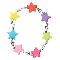 armband sterren multicolor