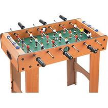 voetbaltafel junior 70 cm naturel/groen