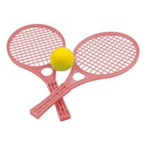 tennisset junior 42,5 x 19 cm rood 3-delig