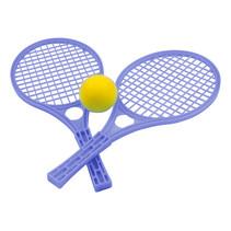 tennisset junior 42,5 x 19 cm blauw 3-delig