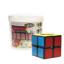 Rubik's Cube 2 x 2 Luna 3,5 cm tweedelig