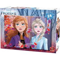 legpuzzel Disney Frozen II karton junior 24 stukjes