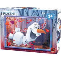 legpuzzel Disney Frozen II junior karton 24 stukjes