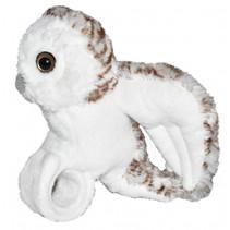 knuffelsneeuwuil 18 cm pluche wit