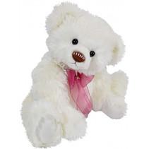 knuffelbeer Teddy Henriette junior 42 cm pluche wit