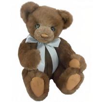 knuffelbeer Teddy Yumi junior 40 cm pluche donkerbruin