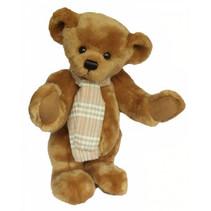 knuffelbeer Teddy Jamie junior 40 cm pluche lichtbruin