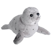 knuffel zeehond 20 cm pluche grijs
