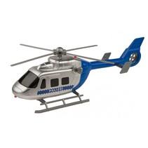 politiehelikopter met licht en geluid 30 cm blauw