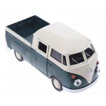 schaalmodel Volkswagen pick up bus groen