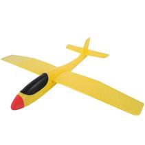 zweefvliegtuig Swan Glider 56 x 69 cm geel