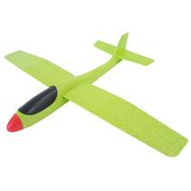 zweefvliegtuig Swan Glider 56 x 69 cm groen
