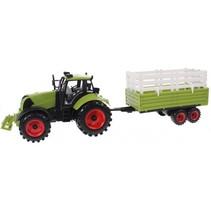 speelset Junior Farming tractor veetrailer 43 cm