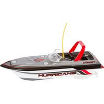 speedboot RC junior 16 x 7 cm wit/rood 6-delig