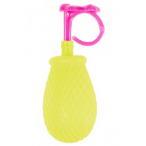 mini-waterspuiter Ring junior 7 cm geel/roze