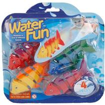 duikspel Vissen junior 11 cm 4 stuks