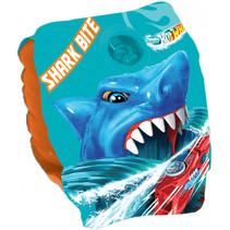 zwemvleugeltjes Shark Bite jongens 25 cm PVC blauw