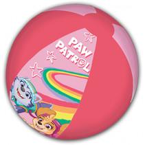 strandbal Paw Patrol junior 45 cm roze/donkerroze