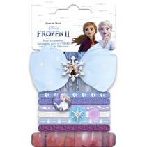haaraccessoires set Frozen II roze/paars 7 stuks