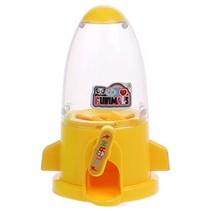 kauwgomballen automaat 10,5 cm geel