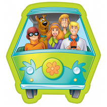 kussen Scooby Doo junior 40 x 40 cm polyester