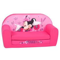 kinderbank Minnie Mouse 77 x 90 cm schuimrubber roze