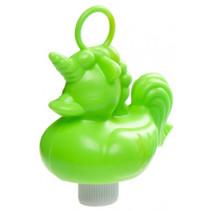 badeend Eenhoorn junior 12 cm groen