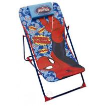 loungestoel Spider-Man 66 x 61 cm staal rood