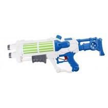 waterpistool Space junior 58 cm wit/blauw