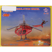 legpuzzel Helicopter junior hout 23 stukjes