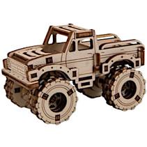 modelbouwset Superfast 7,5 cm hout goud 63-delig