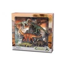 prehistorie: dinosaurus speelset 6-delig