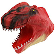 handpop dinosaurus junior 14 x 10 cm rood