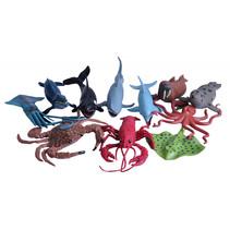speelfiguren zeedieren junior 11-delig