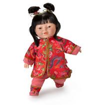 babypop Friends of The World 38 cm meisjes rood