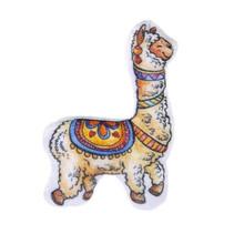 knuffel alpaca 19 cm pluche