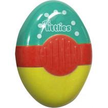 gum en puntenslijper junior turquoise/rood/geel