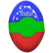 gum en puntenslijper junior blauw/groen/rood