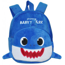 rugzak Baby Shark junior 5 liter pluche/polyester blauw