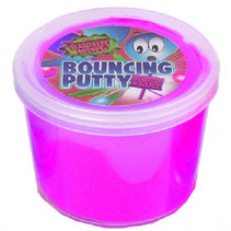 kneeddeeg Bouncy Putty King junior 35 gram roze