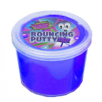 kneeddeeg Bouncy Putty King junior 35 gram blauw