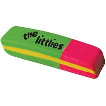 gum Neon junior 6 x 2,2 x 1,1 cm rubber groen/roze