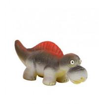 groeiende dinosaurus Yamatops junior 14cm grijs/rood