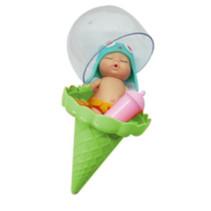 babypop IJshoorntje meisjes 12,5 cm groen 5-delig